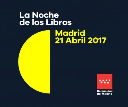 Logo la noche de los libros 2017