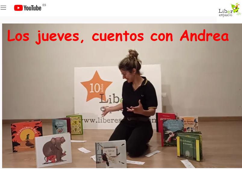 cuentos con ANDREA