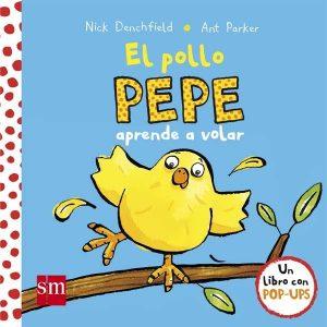 Pollo Pepe aprende a volar