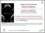 24 VIE Marta Robles nos presenta A menos de cinco centímetros de