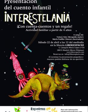 Cuentacuentos Interestelania