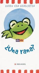 ¿Una rana?