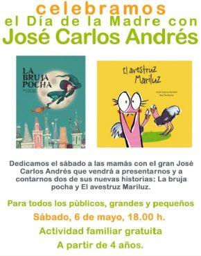 Cuentacuentos jose Carlos Andrés