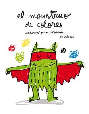 El monstruo de colores cuaderno de colorear