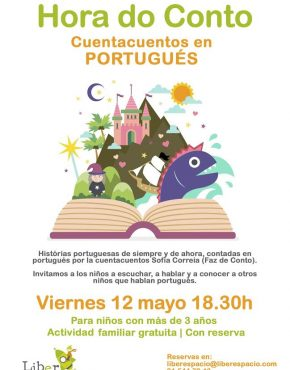 Cuentacuentos en portugués