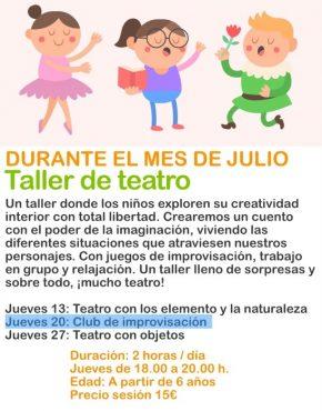 taller de teatro infantil
