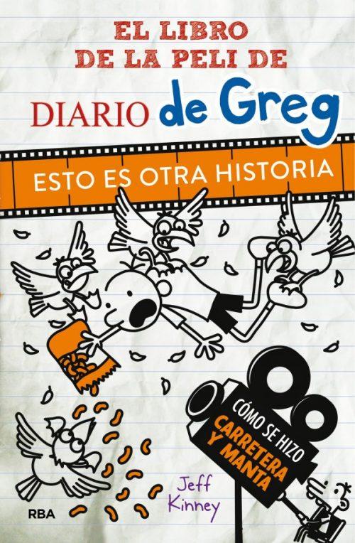 Esto es otra historia  Diario de Greg la película Juvenil, Libros