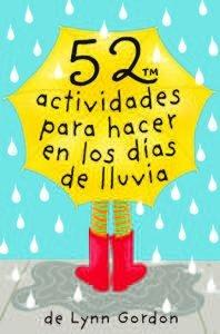 Baraja 52 actividades para hacer en los dias de lluvia