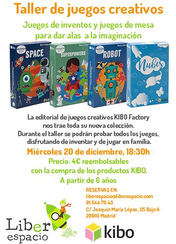 Taller de juegos creativos con Kibo Factory
