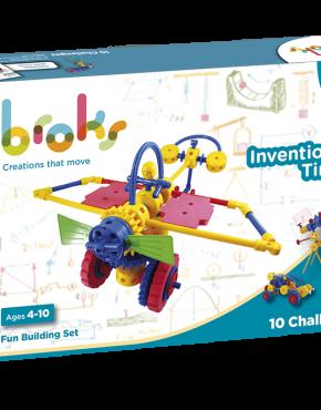 Invention Time. Juego de construcciones Broks