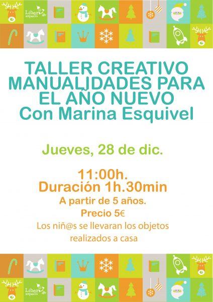 """Taller creativo """"Manualidades para el Año Nuevo"""""""