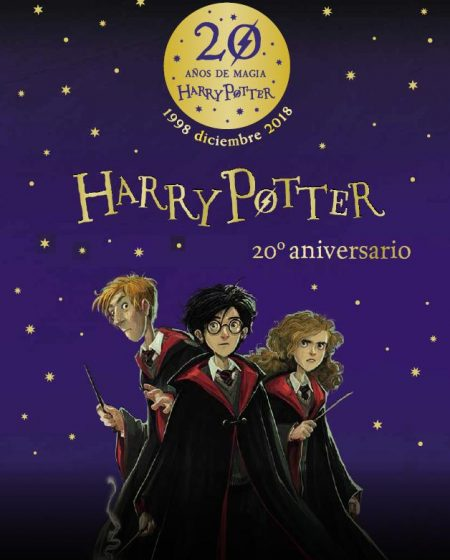 20 aniversario de Harry Potter