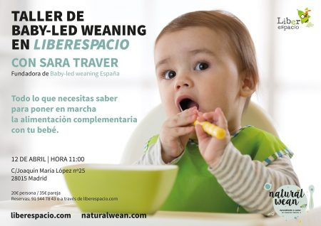 Taller de baby led-weaning abril