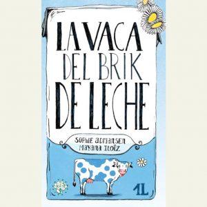 La vaca del brick de leche