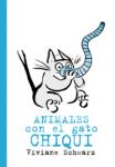 Animales con el gato Chiqui