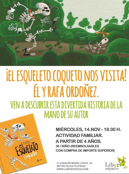 Rafa Ordoñez nos cuenta el esqueleto coqueto