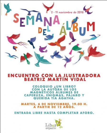 Encuentro con Beatríz Martín Vidal