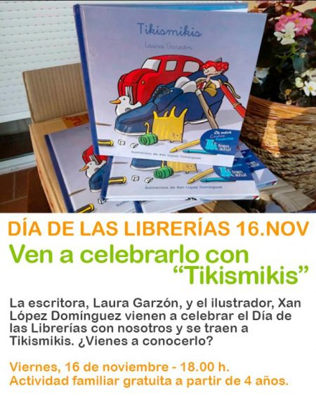 Día de las librerías 16 de noviembre