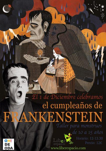 Taller de escritura creativa:Franakenstein