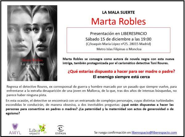 Encuentro con Marta Robles