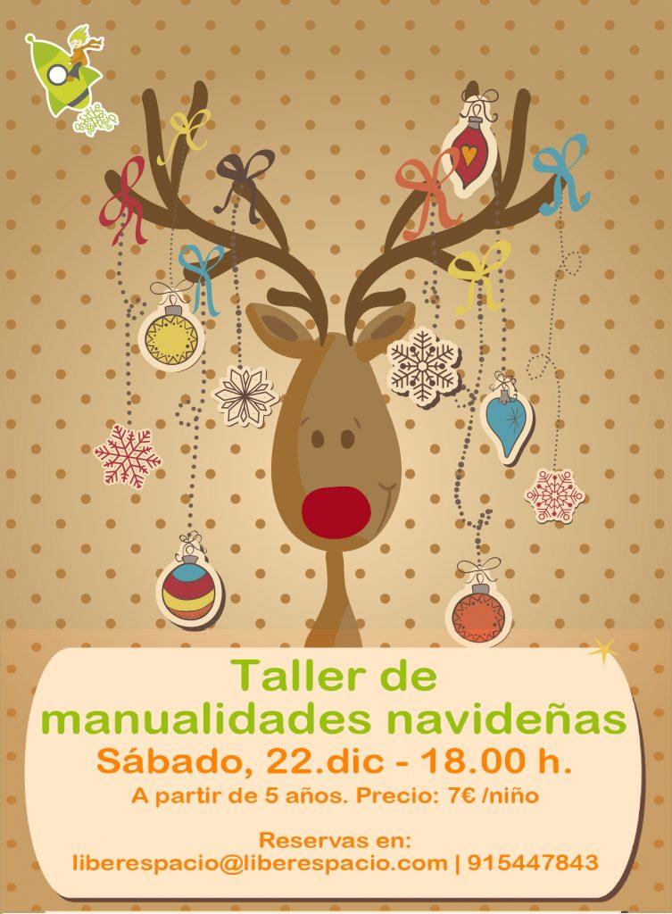 Taller creativo manualidades navideñas