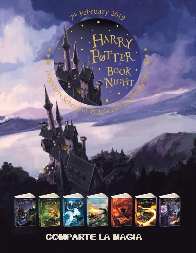 La noche de Harry Potter 2019