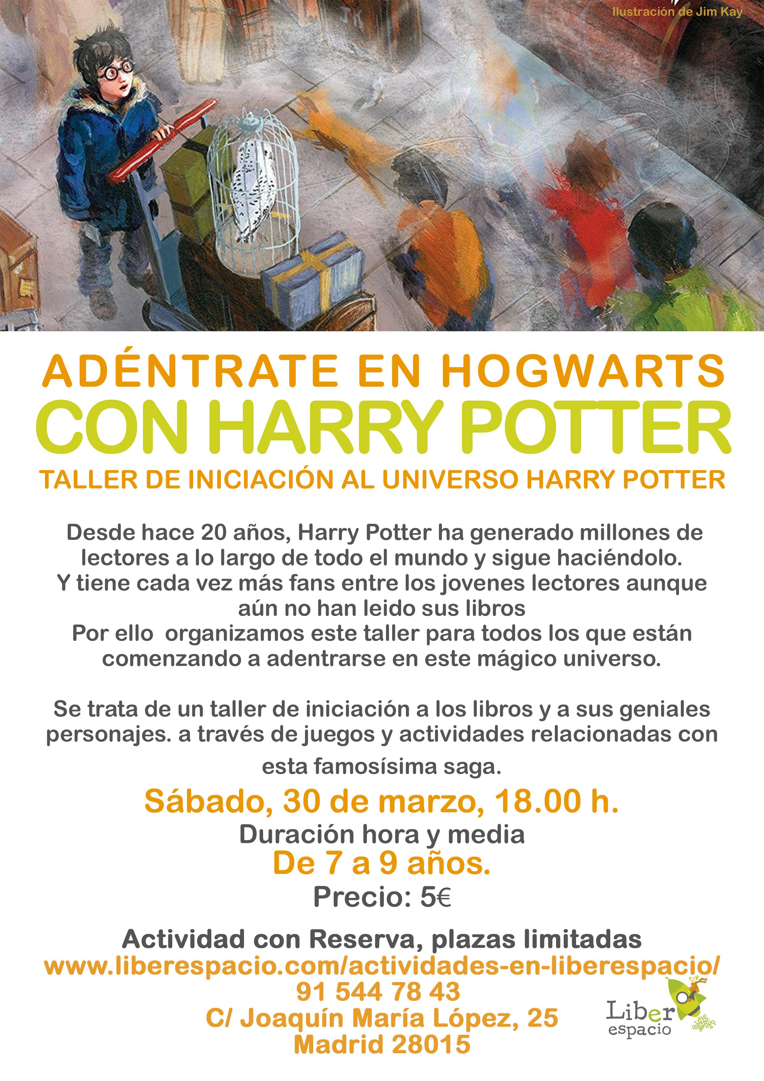 Taller Harry potter