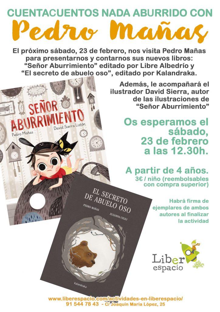 Cuentacuentos con Pedro Mañas