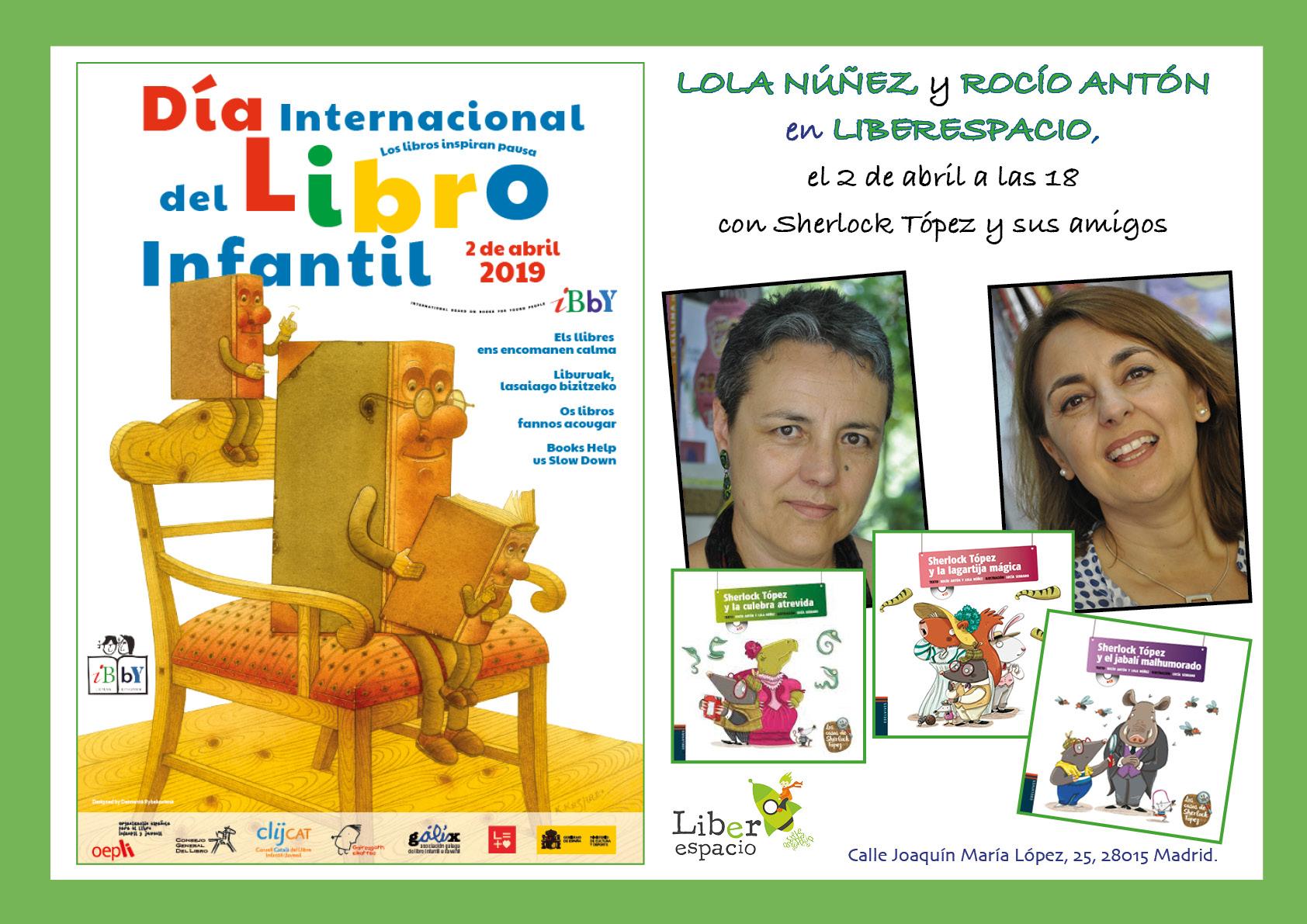 Rocio Antón y Lola Nuñez nos cuentan Sherlock Topez