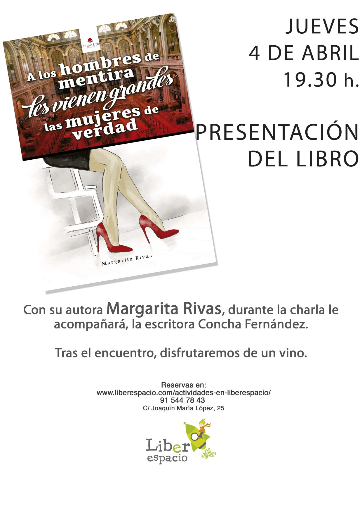 Margarita Rivas presenta su libro