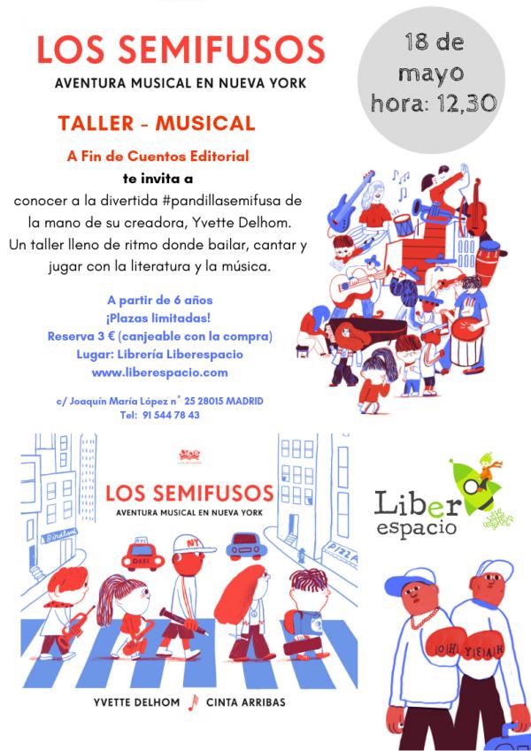 Taller musical:Los semifusos