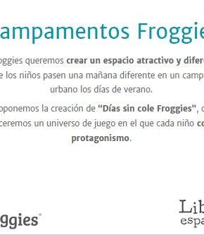 campamento froggies