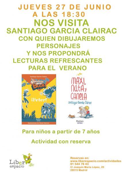 Encuentro con Santiago García-Clairac