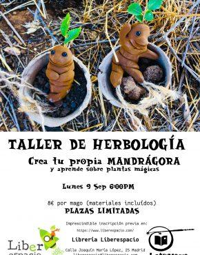 Taller de magia. Herbología