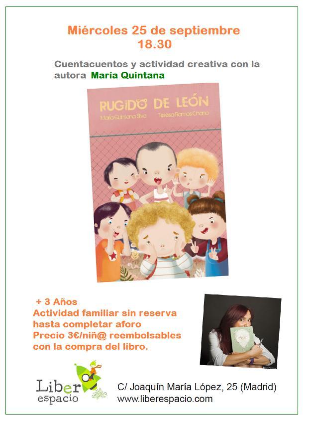 Cuentacuentos con María Quintana