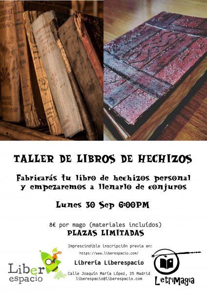 Taller crea tu libro de hechizos