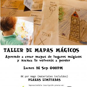 Taller de magia. Mapas mágicos