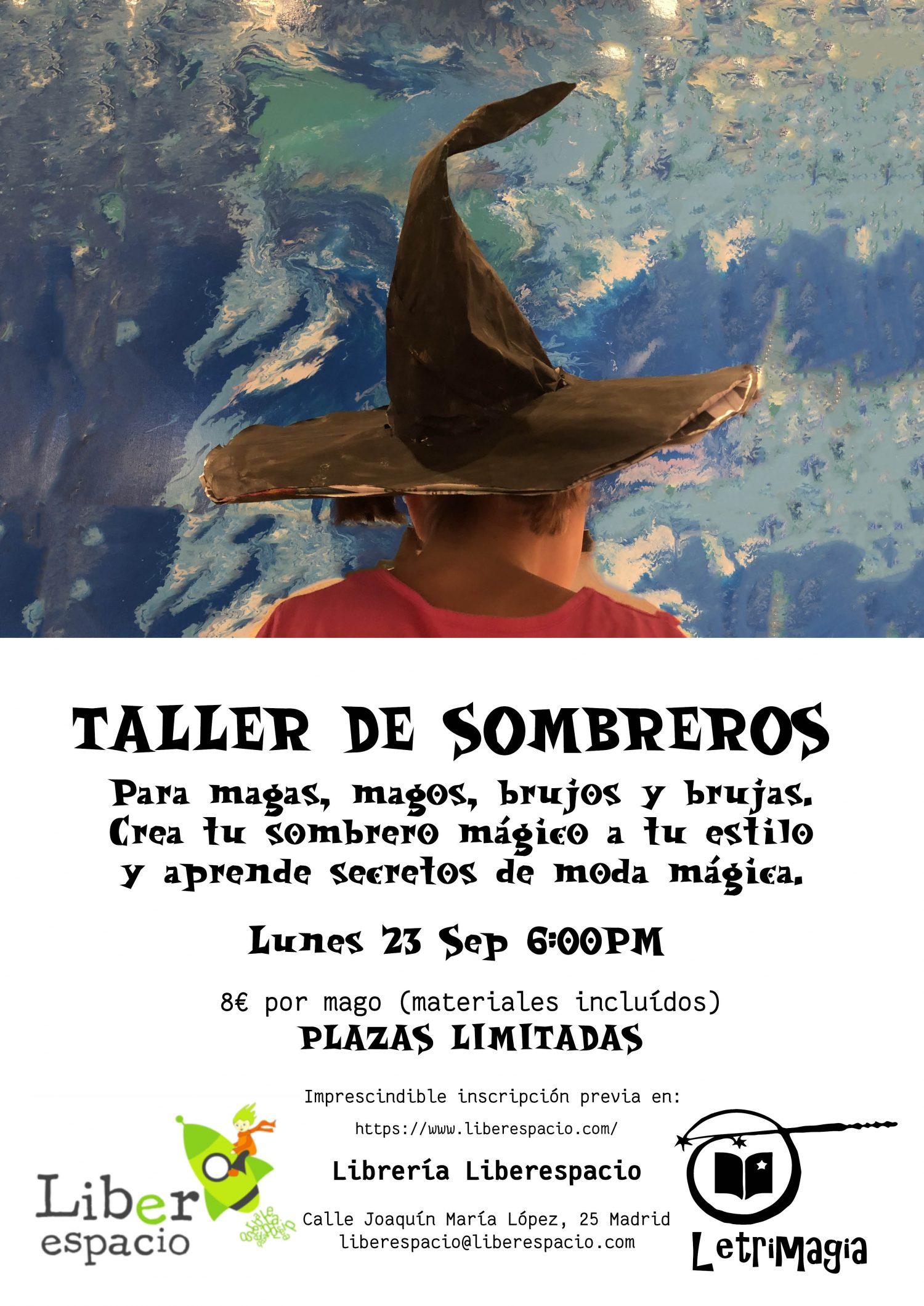 Taller de magia. Sombreros mágicos