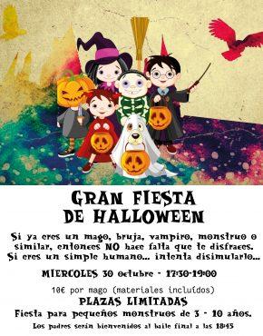 Entrada Fiesta Halloween 2019