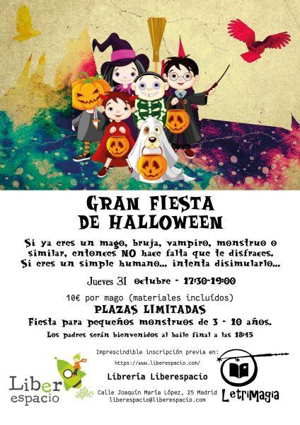 Fiesta de Halloween 31102019