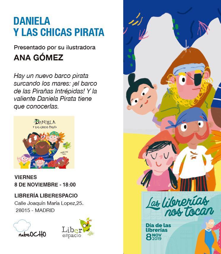 Día de las librerías con Gómez