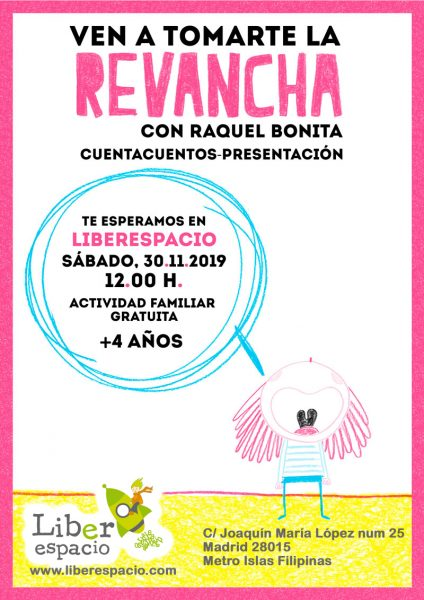 Raquel Bonita nos presenta Revancha