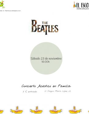 The beatles El Escondite 23/11
