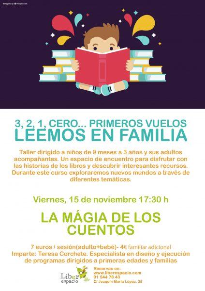 Leemos en familias noviembre