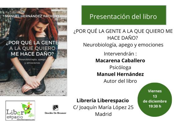 charla presentacion neurobiología, apego y emociones