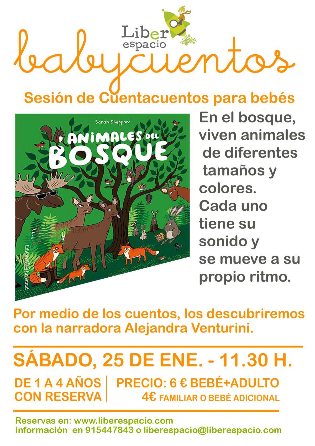 Babycuentos del bosque