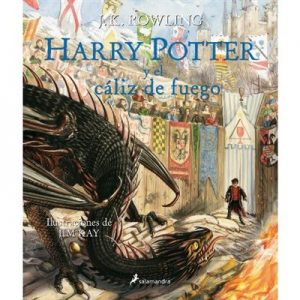 Harry Potter y el caliz de fuego ilustrado