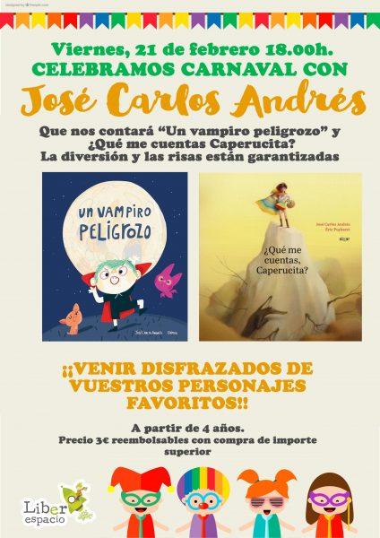 Fiesta de carnaval infantil con Jose Carlos Andres