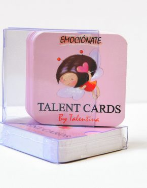 Talent cards: emociónate