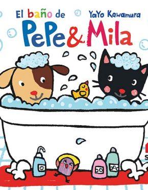Libro de baño de Pepe y Mila